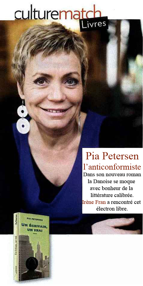 Photo de Pia Petersen dans Paris-Match